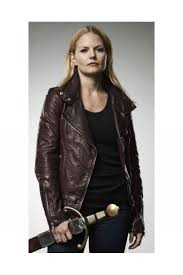 once upon a time season 2 emma swan leather jacket