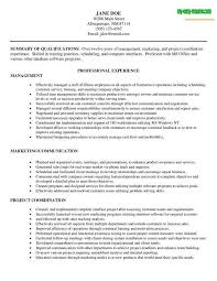 management resume objective management resume sample 1 resume management objective