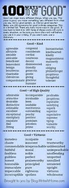 ways to say bad blog post includes links to dictionary writing tips 100 ways to say good we can add this to our classroom graveyard of words that have been laid to rest