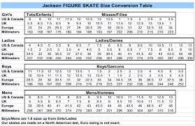 Jackson Sizing Chart