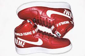 nike shoes air force 1 supreme. supreme x nike air force 1 high pack (2) shoes s