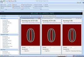 Call Center Application Panasonic Dan Matrix