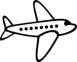 Airplane Clip Art Airplane Black And White Clipart Great Free Clipart Silhouette
