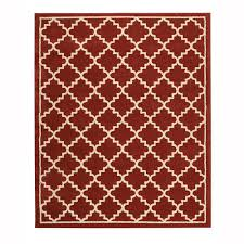 home decorators collection winslow picante 8 ft x 10 ft area rug
