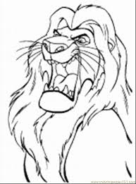 Small Picture Lion King Coloring Pages 1 Coloring Page Free The Lion King