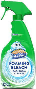 Amazon Com Scrubbing Bubbles Foaming Bleach Bathroom Cleaner 32 Oz Health Personal Care