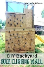 swing set with climbing wall plan