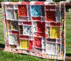 81 best Quilts Rag Quilts images on Pinterest | Crafts, Carpets ... & Twisted Rag Quilt Adamdwight.com