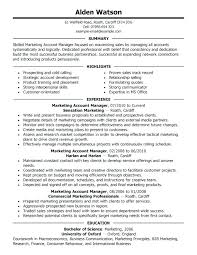 Sample Marketing Director Resume Sample Resume For A Marketing ...