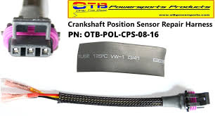 crankshaft position sensor harness otb powersports products crankshaftpositionrepairharness