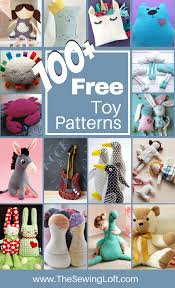 Free Stuffed Animal Patterns Custom 48 Stuffed Toy DIY Patterns The Sewing Loft