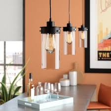 lighting for island. Millet 3-Light Kitchen Island Pendant Lighting For D