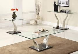 end tables glamorous glass modern coffee table sets decoration l and end for
