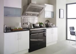 black and white kitchens with a splash of colour red brown rug dark gray ceramic tile