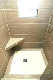 custom tile shower pans pan kit for floor building a diy kits medium s