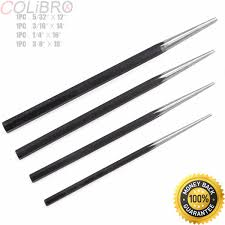get quotations colibrox 4 pc long tapered alignment drift punch set mechanics steel taper tools punches