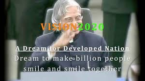 essay on in   vision 2020 a p j abdul kalam slideshare