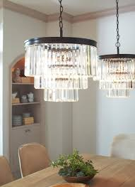 sea gull lighting 3114004 965 carondelet 4 light chandelier in antique brushed nickel with clear beveled glass