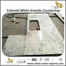 brilliant colonial white granite tops for commercial residential project countertops kitchen commerc colonial white granite kitchen