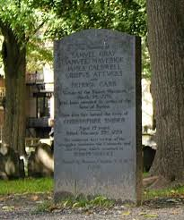 what was the boston massacre facts summary of boston massacre grave marker