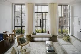 witte gordijnen woonkamer