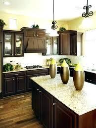 dark cabinets with light granite kitchen dark cabinets light granite dark cabinets light granite kitchen dark