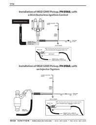 msd ignition wiring diagrams com installation instructions part 2 acircmiddot msd gmr pickup cdi and distributorless ignitions acircmiddot msd gmr pickup distributorless and injection systems