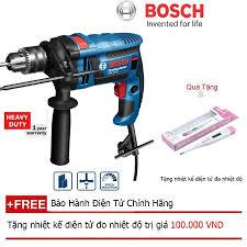 Mua Máy khoan động lực Bosch GSB 16 RE (Hộp nhựa) + Quà tặng nhiệt kế điện  tử giá chỉ 1.629.000₫