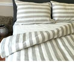 grey and white striped bedding bed linen sheets ticking stripe e 2 grey and white striped bedding