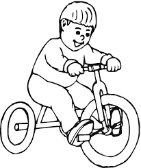 Small Picture Postman Pat In Tricycle Coloring S For Kids Printable Free