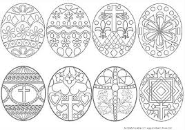 Religious Easter Egg Coloring Pages Happy Easter 2018