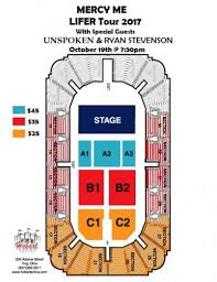 Hobart Arena Seating Chart Tickets Lifer Tour In Troy Oh Itickets