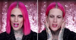 see what jeffree star looks like without makeup because you know you want to