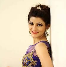 shilpa ahuja enaement makeup look blue dress ideas