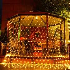 Outdoor Holiday Lights 220v Eu 1 5 1 5m 3 2m Led Fairy Curtain Garlands Outdoor Holiday Light Christmas Decorative Wedding Net Mesh String Party Lamp