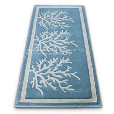 cute fluffy blue and white porch synthetic fibers entryway runner rug of rug from china suppliers 158793806