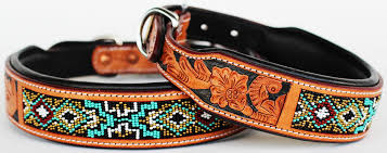 image is loading dog puppy collar genuine cow leather padded canine