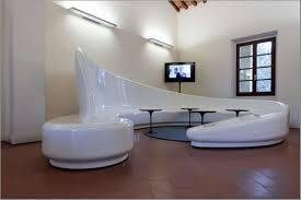 round living room furniture. Living Room:Cool Unique Room Design Inspiration With Spiral White Modern Sofa And Black Round Furniture H