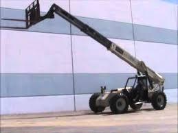 Ingersol Rand Forklift For Sale Ingersoll Rand Vr 843 Telescopic Reach Forklift Telehandler