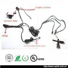 professional manufacture car led light bar wire harness assembly professional manufacture car led light bar wire harness assembly relay and switch