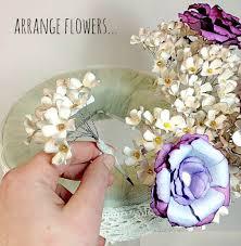 Wedding Paper Flower Centerpieces Diy Paper Flower Centerpiece Plucking Daisies