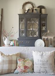 Living Room China Cabinet Top Of China Cabinet Vignette Lets Go Home Pinterest The O