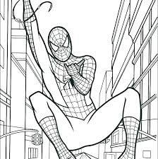 Spiderman Coloring Page Related Post Spider Man Homecoming Lego