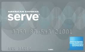 amex serve card like a checking account