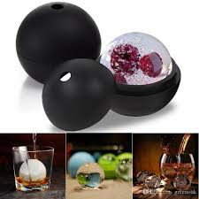extra large 6cm spherical ice ball molds tray silicone round sphere ice cube maker for whiskey cocktail party favor bar tool ice maker ice mold ice tray