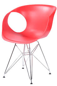 modern chair plastic. 504-chair-office-g15026-red Modern Chair Plastic