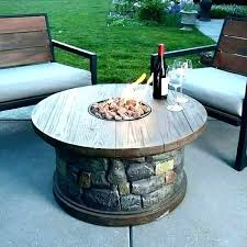 outdoor propane fire pit kits table kit backyard diy build your own