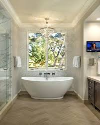 kohler freestanding tubs laminar tub spout bathroom traditional with antique mirror kohler margaux floor mount tub