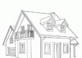 Small Picture House Coloring Pages Coloring4Freecom