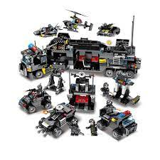 Mua BỘ ĐỒ CHƠI XẾP HÌNH LEGO CẢNH SÁT ĐẶC CHỦNG 700 MẢNH GHÉP LGDQCS1212  chỉ 280.000₫